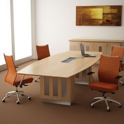 Palermo Light Boardroom Table